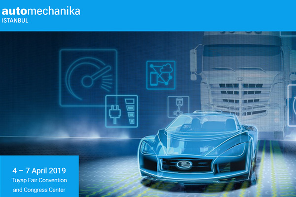Booth NO.11C234 in Automechanika Istanbul from 4th April to 7th April tuyap
